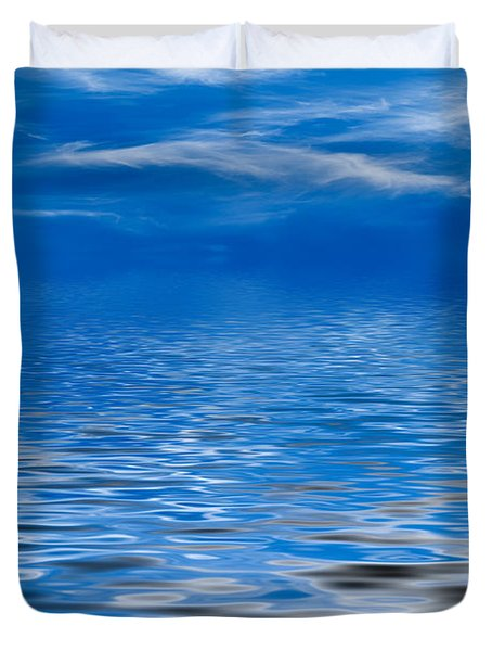 Blue Sky Duvet Cover by Kati Molin