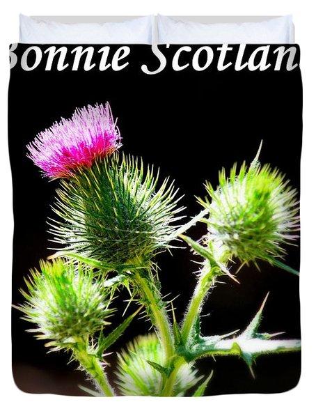 Bonnie Scotland Duvet Cover by Patrick Witz