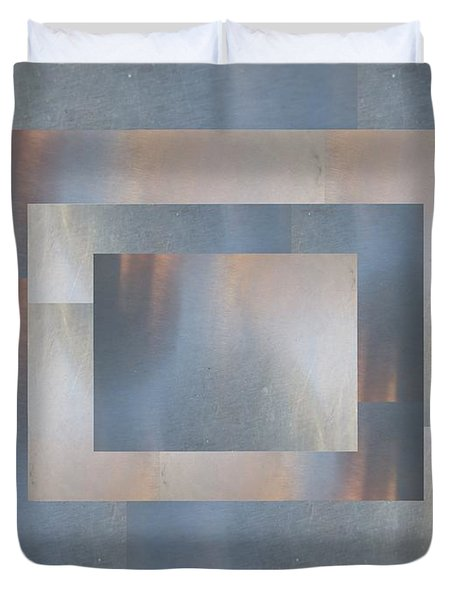 Brushed 19 Duvet Cover by Tim Allen