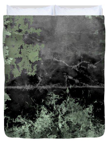 Camo Duvet Cover by Christopher Gaston