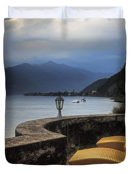 Canvas Chairs Duvet Cover by Joana Kruse