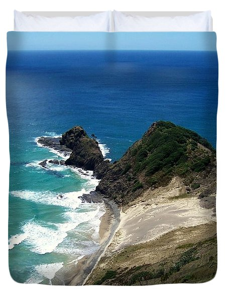Cape Reinga - North Island Duvet Cover
