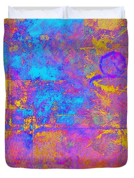 Chemiluminescence Duvet Cover by Christopher Gaston