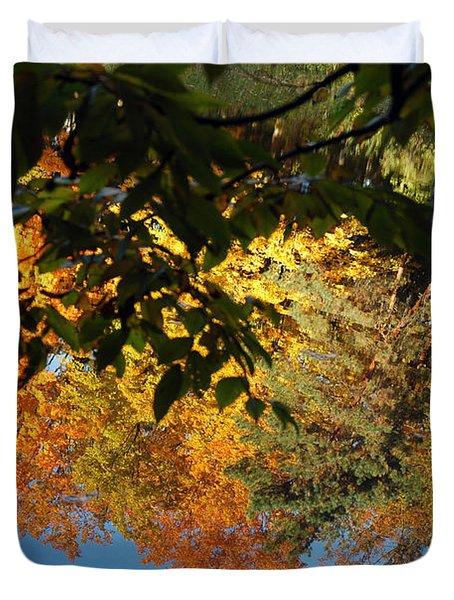 Colorful Reflections Duvet Cover by LeeAnn McLaneGoetz McLaneGoetzStudioLLCcom
