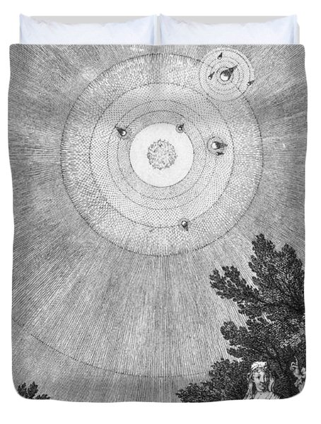 Conversations On The Plurality Duvet Cover by Science Source