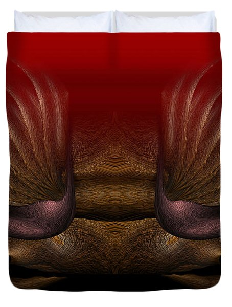 Crab Duvet Cover by Christopher Gaston