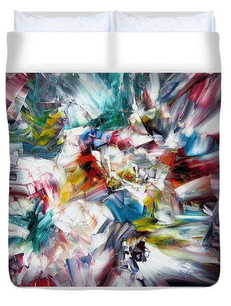 Crystal Layers Duvet Cover