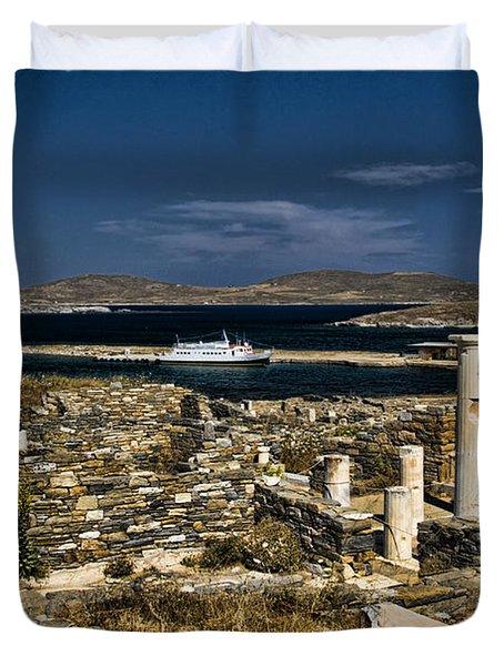Delos Island Duvet Cover