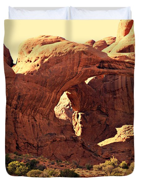 Double Arch Duvet Cover by Marty Koch