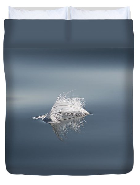 Down On The Water Duvet Cover by Cathie Douglas