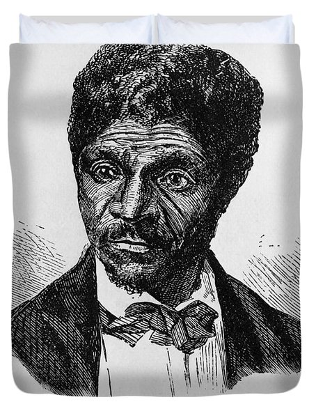 Dred Scott, African-american Hero Duvet Cover by Photo Researchers