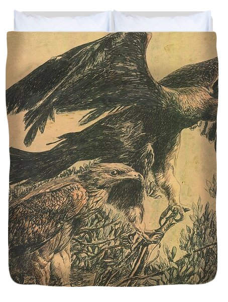 Eagle's Roost Duvet Cover