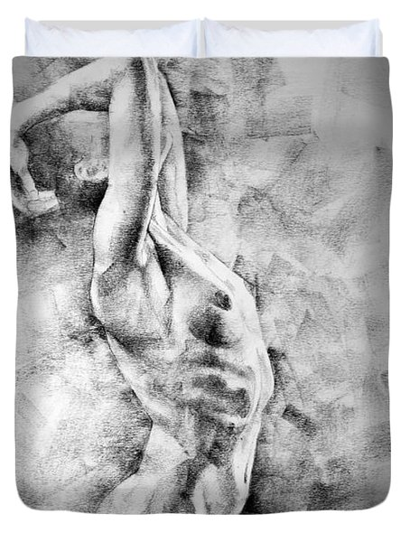 Erotic Sketchbook Page 3 Duvet Cover