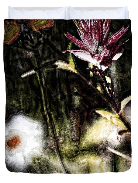 Field Of Feelings  Duvet Cover by Jerry Cordeiro