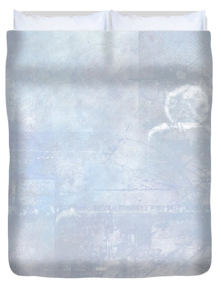 Glacial Duvet Cover by Christopher Gaston