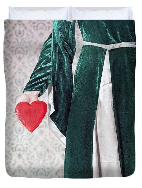 Heart Duvet Cover by Joana Kruse