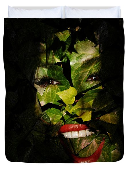 Duvet Cover featuring the photograph Ivy Glamour by Clayton Bruster
