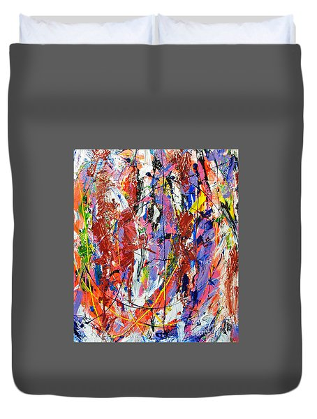 Jazz Duvet Cover by Elf Evans