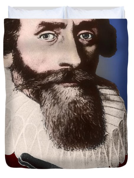 Johannes Kepler, German Astronomer Duvet Cover by Science Source