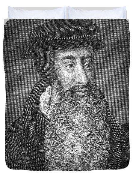 John Knox, Scottish Protestant Duvet Cover by Photo Researchers