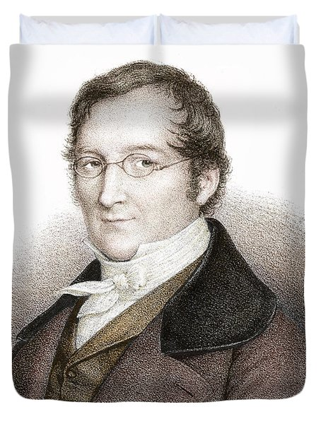 Joseph Gay-lussac, French Chemist Duvet Cover by Science Source