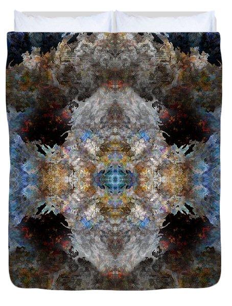 Kaleidoscope Duvet Cover by Christopher Gaston