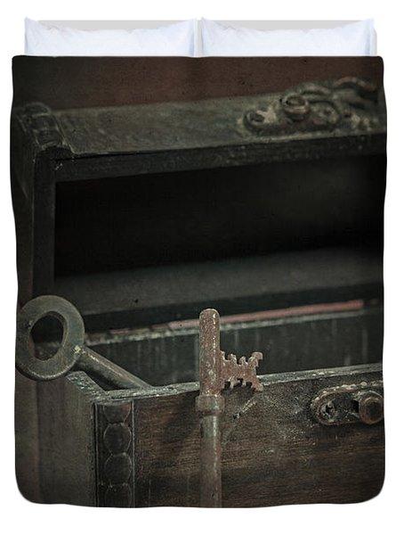Keys Duvet Cover by Joana Kruse