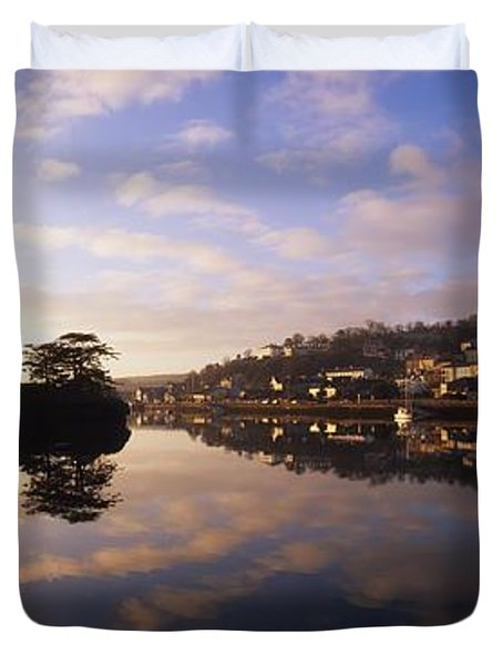 Kinsale Harbour, Co Cork, Ireland Duvet Cover by The Irish Image Collection