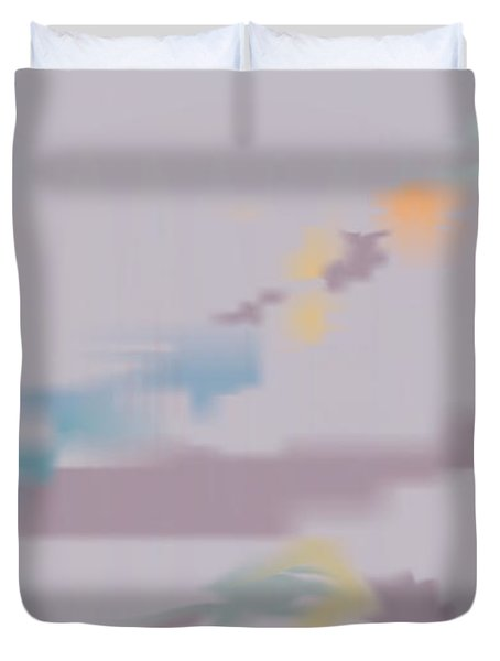 Kundalini Reveals Dna Duvet Cover