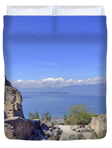 Lake Garda Duvet Cover by Joana Kruse