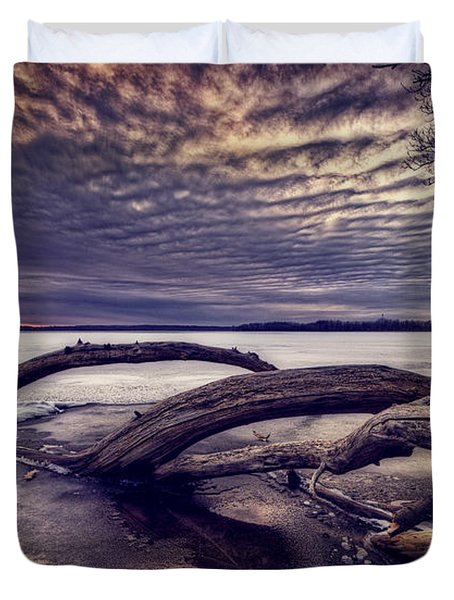 Lake Neatahwanta Duvet Cover by Everet Regal