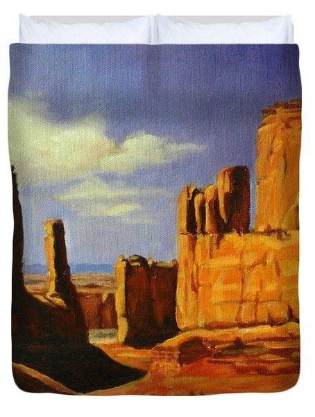 Lane Park  Utah Duvet Cover