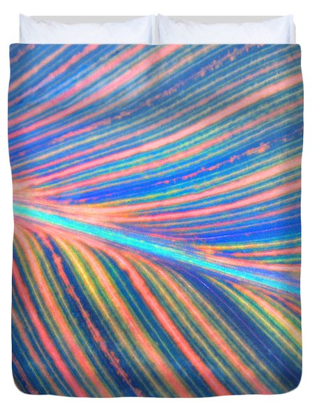 Leaf Colors Filtered Duvet Cover