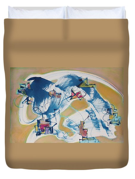 Letting Go Duvet Cover by Asha Carolyn Young