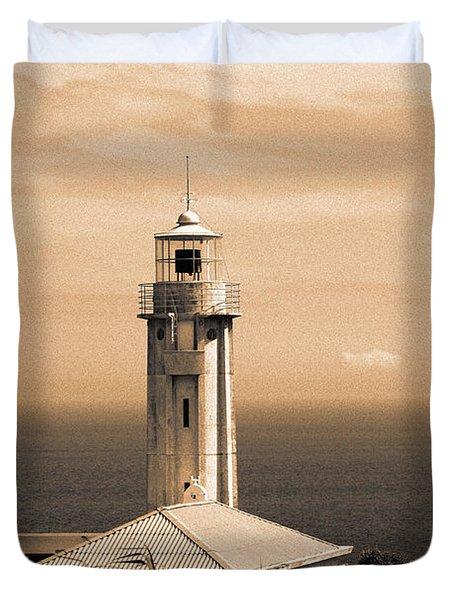 Lighthouse Duvet Cover by Gaspar Avila