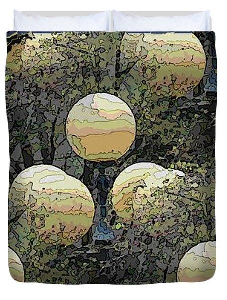 Lighting The Way Duvet Cover by Tim Allen