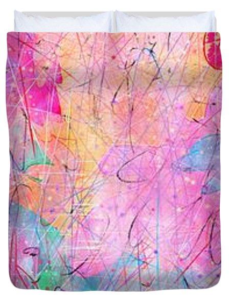 Little Miracles Duvet Cover by Rachel Christine Nowicki