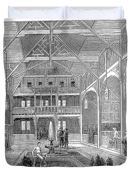 London: Turkish Bath, 1862 Duvet Cover