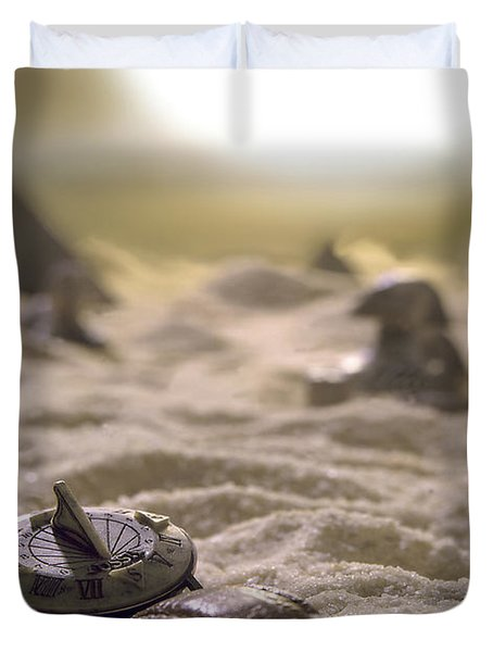 Lost Time Duvet Cover by Mike McGlothlen