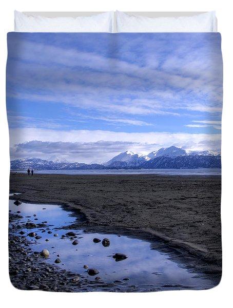 Low Tide Duvet Cover by Michele Cornelius