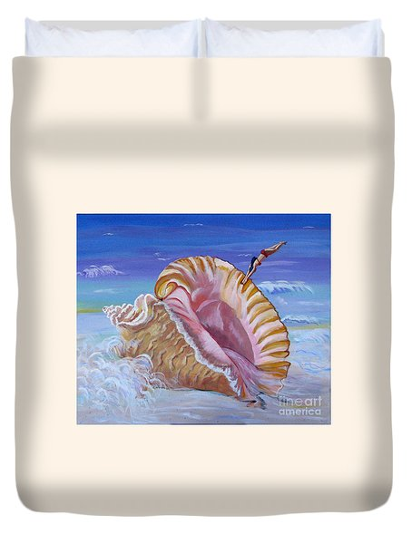 Magic Conch Shell Duvet Cover