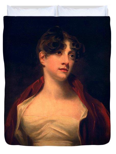 Margaret Moncrieff Duvet Cover by Sir Henry Raeburn