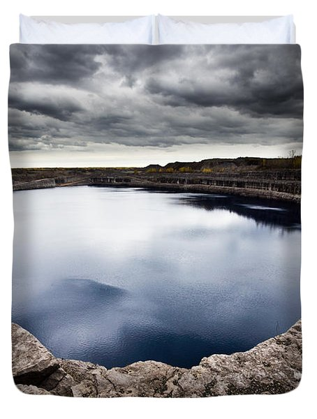 Marmora Mine Duvet Cover by Cale Best