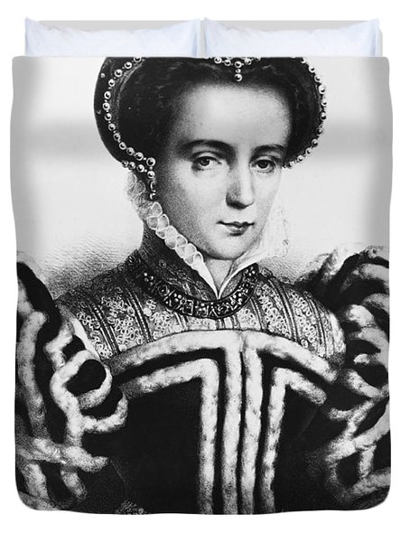 Mary I, Queen Of England And Ireland Duvet Cover