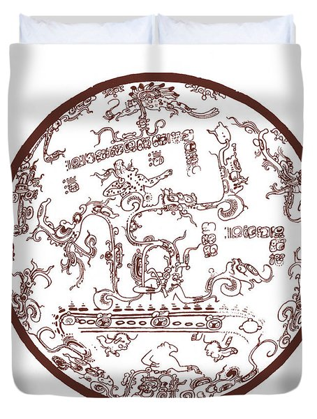 Mayan Cosmos Duvet Cover by Science Source