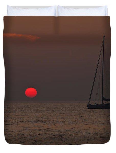 Mediterranean Duvet Cover by Joana Kruse
