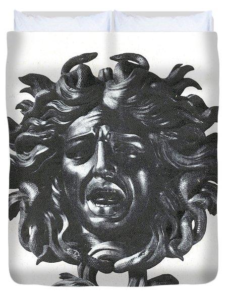Medusa Head Duvet Cover