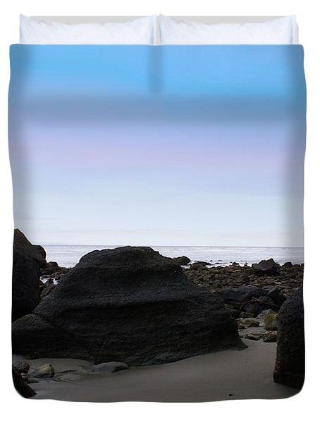 Neah Bay Duvet Cover by Christy Leigh
