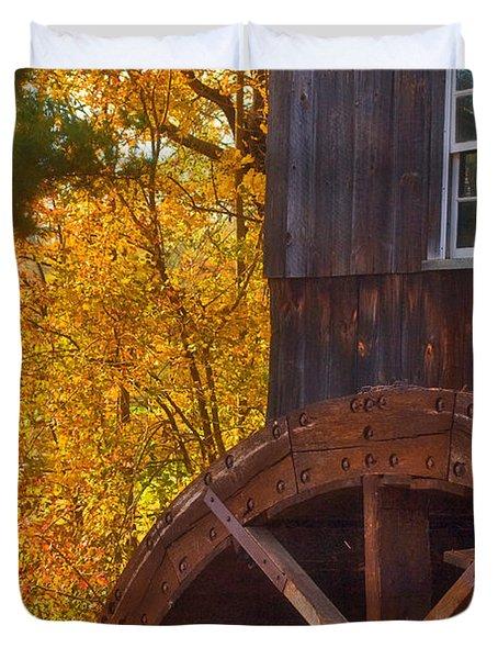 Old Mill Duvet Cover by Joann Vitali