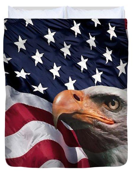 One Nation Duvet Cover